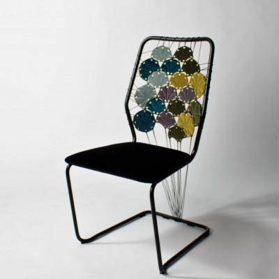 60-tal möter art deco. Design och utförande av Lina.